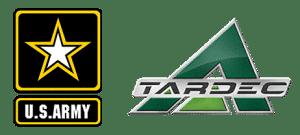 US Army and Tardec logos